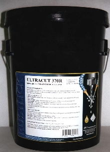 Semi-Synthetic Coolant offers lubricity and rust protection.
