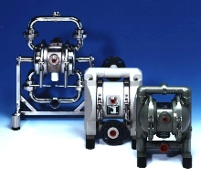 Diaphragm Pumps are available in various materials.