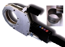 Weld Head offers scissors clamping mechanism.