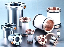 Locking Bushings provide positioning on sliding shafts.
