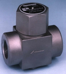 Steam Trap has removable mesh strainer.