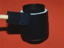Black-Body Coating is odorless and water-soluble.