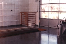 Floor Coating resists dirt and abrasion.