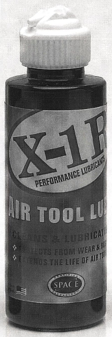 Air Tool Lube allows tools to run cooler.