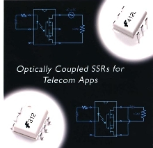 Solid State Relays work in telecommunications.