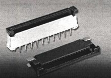 Connectors provide zero insertion force terminations.