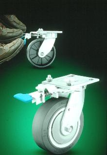 Swivel Lock makes swivel casters rigid.