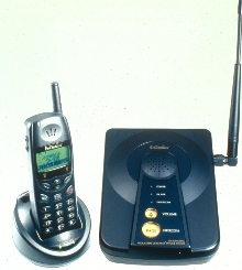 Cordless Phone System works in rugged environments.