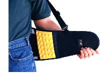 Back Support protects spine from accidents.