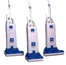 Upright Vacuums provide high filtration.