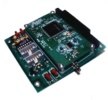 Embedded Board accommodates global positioning system.