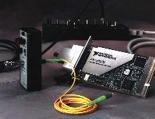 DAQ System works with optical sensors.