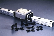 Linear Guides are sealed against contaminants.