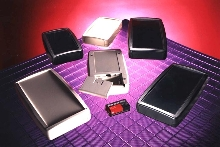 Enclosures suit data entry, test, and control equipment.