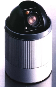 High-Speed Domes incorporate 1/4 in. CCD color cameras.