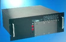 Industrial Computer has dual hot-swap capabilities.
