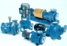 Sealless Pump works in corrosive environments.