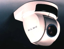 Dome Camera covers wide areas.