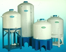 Thermoplastic Tanks are impact and corrosion resistant.