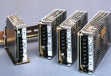 Switching Power Supplies are DIN rail mounted.