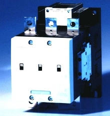 Vacuum Contactors are available in large frame models.
