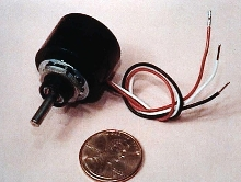 Potentiometer handles heat and vibration.