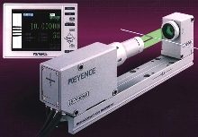 Optical Micrometer measures ultra-small targets.