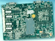 Embedded Board has biscuit (EBX) form factor.