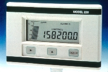Level Monitor displays level and contents.