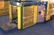 Palletizer works in hazardous environments.