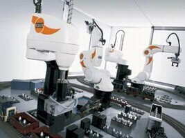 Six-Axis Robots handle payloads of up to 5 kg.