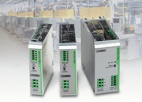 Power Supplies come in rugged, zinc-plated steel housing.