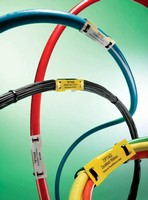 Cable Markers are used to mark wire bundles or large cables.