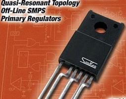 SMPS Primary Regulators feature low EMI noise.