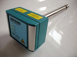Analyzer measures particles ranging from 50-6,000 microns.