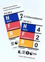 Right-To-Know Labels are designed for small containers.