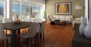 Hardwood Flooring is offered in 4 species of wood.