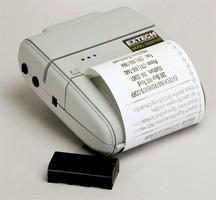 Portable Receipt Printer weighs just 24 oz.