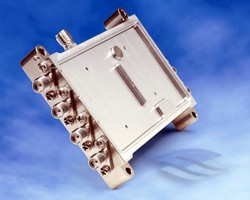 Down Converter operates over frequency range of 2-18 GHz.