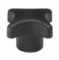 Inch Size Nylon Plastic Star Knobs Offered by J.W. Winco