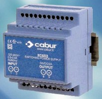 Power Supplies have rated input voltage of 120-230 Vac.
