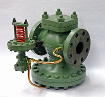 Steam Pressure Regulator requires no external power signal.