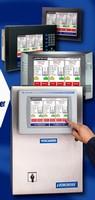 Software monitors and controls viscosity sensors.