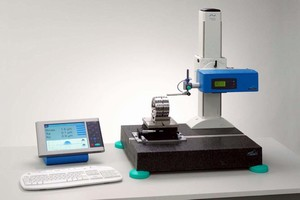 Roughness Measuring System operates within production line.