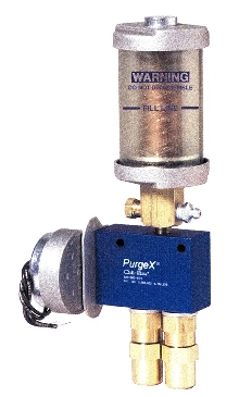 Grease Pump dispenses precise amount.