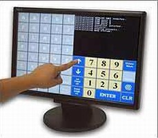 Monitor is offered in USB and Serial touch screen interface.