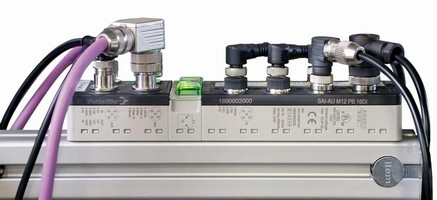 Sensor Actuator Interfaces have IP 67 rated housings.