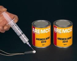 Epoxy Adhesive provides temperature resistance to 365°F.