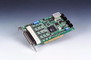 PCI Card offers synchronized analog output function.
