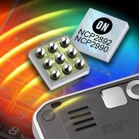 Audio Amplifiers deliver 1.3 W continuous average power.